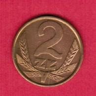 POLAND  2 ZLOTY 1982 (Y # 80.1) #5332 - Polen