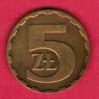POLAND  5 ZLOTY 1985 (Y # 81.1) #5334 - Polen