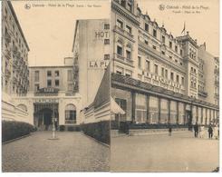 2 Cp D'Ostende - Hôtel De La Plage. - Oostende