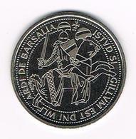 //  PENNING  VEERE - VEERSE RIJDER 1996 - Elongated Coins