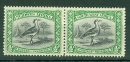 South West Africa: 1931   Pictorial   SG74   ½d   MH Pair - South West Africa (1923-1990)