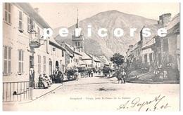 38   Corps  Rue Pricipale Et L'église - France