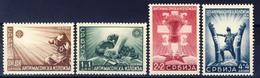 1942 - Occupazione Tedesca - Serie Antimassonica - Nuovi Mlh - Serbia