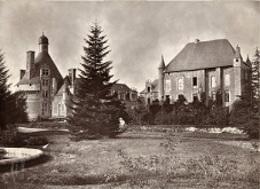 Bonnes 86 Château De Touffou Photo Originale Robuchon Vers 1886 336CP02 - Lieux