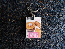 Porte-clefs Mousse Vanille Milliat Frères  (Box 4-2) - Porte-clefs