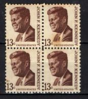 STATI UNITI - 1967 - PERSONALITA': JOHN F. KENNEDY - GOMMA CON MACCHIA - MNH - Stati Uniti