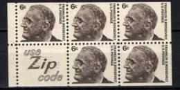 STATI UNITI - 1966 - PERSONALITA': FRANKLIN ROOSEVELT - DA LIBRETTO - MNH - Stati Uniti