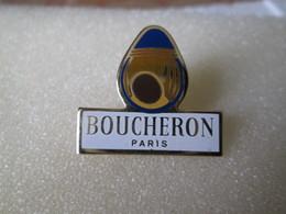 PIN'S   PARFUM  BOUCHERON  PARIS - Perfume