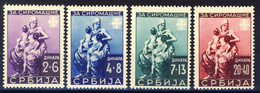 1942 - Occupazione Tedesca - Pro Orfani Di Guerra - Nuovi Mlh - Serbia