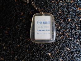 Porte-clefs Ets R. Gillet, Charleroi  (Box 4-2) - Porte-clefs