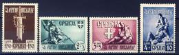 1943 - Occupazione Tedesca - Pro Invalidi Di Guerra - Nuovi MNH** - Serbia