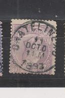 COB 52 Oblitération Centrale CHATELINEAU - 1884-1891 Léopold II