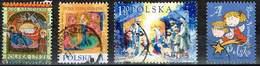 Polen 2015/17/03/12, Michel# 4802, 4957, 4083, 4591 O Weihnachten - Used Stamps