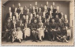 BRETAGNE - FINISTERE - Carte Photo Mariage Breton. Militaire. Coiffes Bretonnes. - Non Classificati