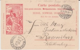 USED CARTE POSTALE 12/09/1900 - Entiers Postaux