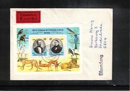 Deutschland / Germany DDR 1989 Michel  Block 98 Auf Echt Gelaufenen Brief - Briefe U. Dokumente