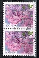 Polen 2015, Michel# 4810 O Blumen Und Früchte: Syringa L. - Used Stamps