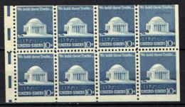 STATI UNITI - 1974 - Jefferson Memorial - DA LIBRETTO - SENZA GOMMA - United States