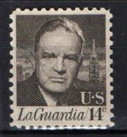 STATI UNITI - 1972 - FIORELLO LA GUARDIA - MNH - Estados Unidos