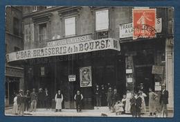 MARSEILLE - Carte Photo - Gd Bar - Brasserie De La Bourse ( Rue De Bausset ) - Altri