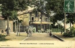 93 Montreuil Limite Romainville / A 500 - Montreuil