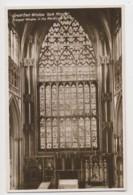 AI82 Great East Window, York Minster - RPPC - York