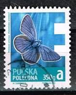 Polen 2013, Michel# 4627 O  Freimarken Economy - 350 G, Mazarine Blue (Polyommatus Semiargus) - Used Stamps