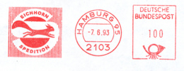Freistempel 5113 Eichhörnchen - Poststempel - Freistempel