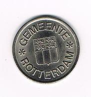 //  PENNING GEMEENTE  ROTTERDAM KANTINE PENNING - Elongated Coins