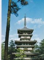 AL05 East Pagoda Of The Yakushiji Temple At Nara - Japan