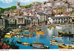 AQ46 Brixham, Devon - John Hinde Postcard - Angleterre