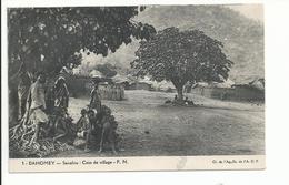 DAHOMEY Savalou Coin De Village - Dahomey