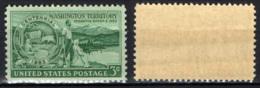 STATI UNITI - 1953 - CENTENARIO DEL TERRITORIO DI WASHINGTON - MNH - United States