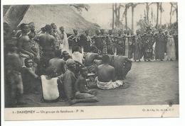 DAHOMEY Un Groupe De Féticheurs - Dahomey