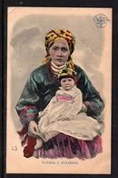 Kobieta Z Dzieckiem. - Russia
