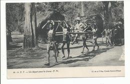CENTRE AFRIQUE Citroên Départ Pour La Chasse - Centrafricaine (République)