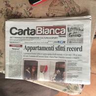 CARTA BIANCA NEWS VALBORMIDA - Libri, Riviste, Fumetti