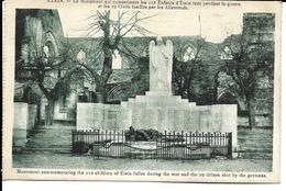 55 - Etain - Le Monument Qui Commémore Les 112 Enfants D'Etain Tués Pendant La Guerre Et Les 19 Civils Fusillés - Etain