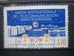 FRANCE    N° 2589 - OBLITERATION RONDE - Francia