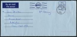 2005 GB Iraq British Army Operation Telic 5 Airletter B.F.P.O. Field Post Office Lt. Col Wilson. Al Muthanna, Basrah - 1952-.... (Elizabeth II)
