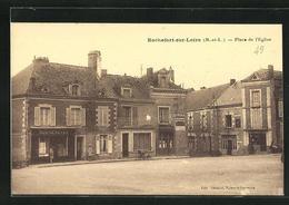 CPA Rochefort-sur-Loire, Place De L` Eglise - France