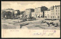 CPA Banyuls-sur-Mer, Coin De La Plage - Banyuls Sur Mer