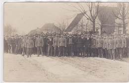 Fotokarte Carte Photo Militaria WW1 WK1 Photograph Albers Heide Freudenthal Kaserne - Sudeten