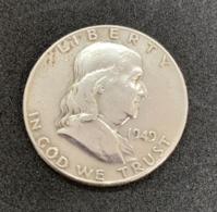 Half Dollar Etats Unis. E Pluribus Unum. 1946. Argent. Diamètre 30 Mm - Poids 13 Gr. - Émissions Fédérales