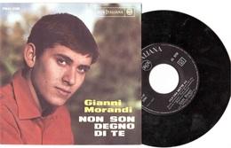 GIANNI MORANDI NON SON DEGNO DI TE   PER UNA NOTTE NO - Disco, Pop