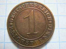 1 Reichspfennig 1931 (E) - [ 3] 1918-1933 : República De Weimar