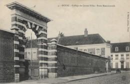 CPA – 59 – DOUAI – Collége De Jeunes Filles, Porte Monumentale - Douai