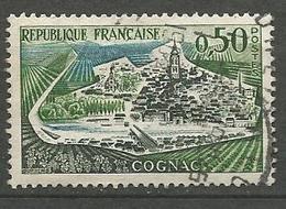 COGNAC SANS AUCUNE Péniches Et Sans Digue N° 1314 OBL - Errors & Oddities