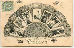 ALGERIE DELLYS MULTI VUE DANS UN EVENTAIL - Other Cities