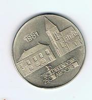 België Gemeentepenningen 1981 Breendonck 1 Meutte - Jetons De Communes